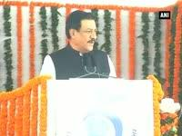 News video: Prithviraj Chavan at foundation stone laying ceremony of SEZ at Jawaharlal Nehru Port